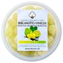 Bon-Bon au bergamote et vanille, fourrés au miel