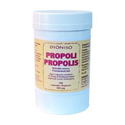 Propolis dry extract in capsules, 100 of 350 mg