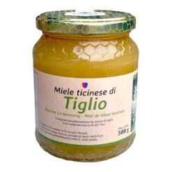 Ticinese linden honey, crystallized